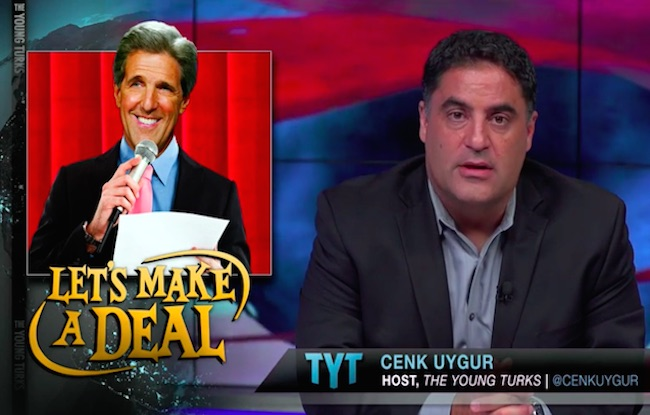 "Photo of Cenk Uygur of The Young Turks hails Iran deal as, ""Fantastic!"""