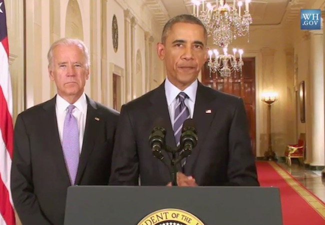 Photo of Statement by President Barack Obama on deal with Iran