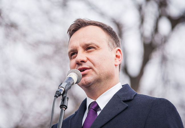 Photo of Polish President Duda calls for increased NATO troops in eastern region