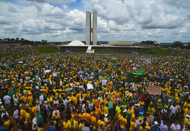 """Photo of """"Dilma Out"""", was voiced by hundreds of thousands across Brazil"""