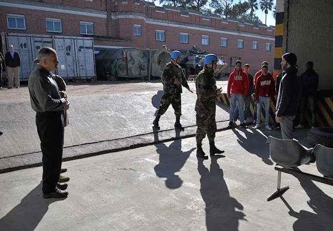 Photo of Uruguay and the U.S. train to enhance peacekeeping missions