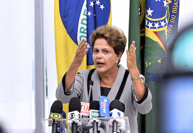 Photo of Suspended Rousseff claims tapes reveal her impeachment is meant to stop the Petrobras corruption probe