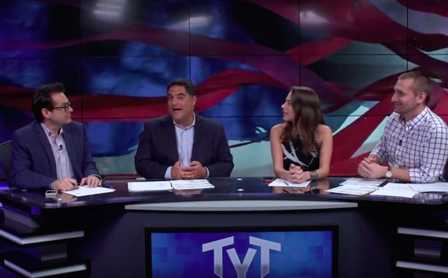 Photo of The Young Turks: Former pastor, Mike Huckabee, asks if Syrian refugees are leaving war torn country to get better cable