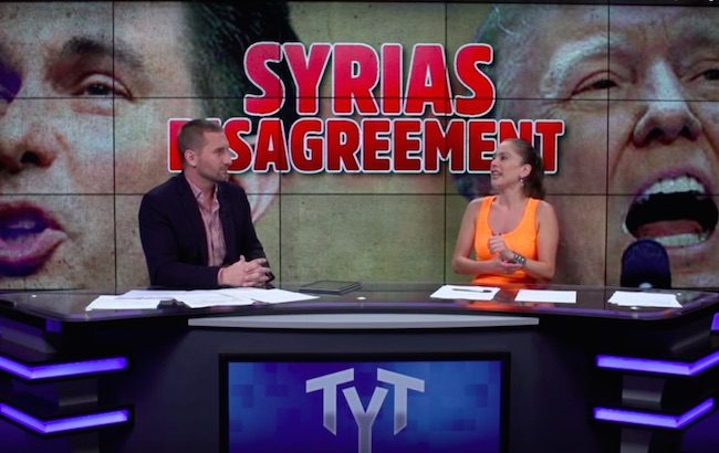 Photo of The Young Turks: Donald Trump sees Syrian refugees as a humanitarian effort, but doesn't harbor the same feelings for Hispanics