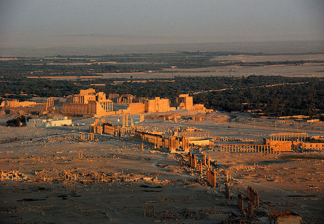 Photo of Palmyra: ISIS-wanton destruction
