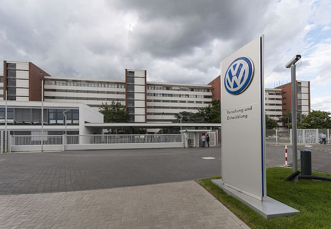 Volkswagen Research and Development building in Wolfsburg. (Photo: Courtesy of WikiCommons)