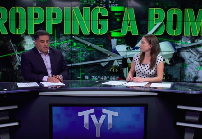 """Photo of The Young Turks on truth about U.S. drone program: """"Who are we liberating and are we liberating them from their own lives?"""""""