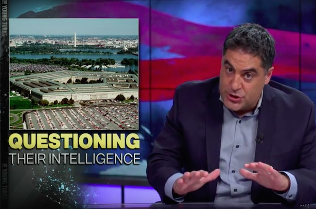 Photo of Cenk Uygur: Pentagon ignores own report. Turns out, military strikes against ISIS not working as well as advertised!