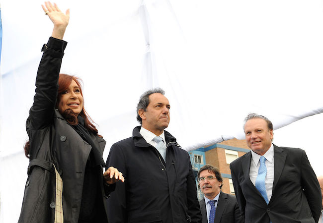 Photo of Cristina Fernandez cancels trip to G20 summit and joins Scioli's presidential campaign