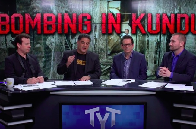 Photo of The Young Turks on what happened to Doctors Without Borders in Kunduz: The rules are gone!