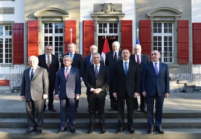 Photo of Azerbaijani and Armenian leaders hold talks over Nagorno Karabakh in Switzerland