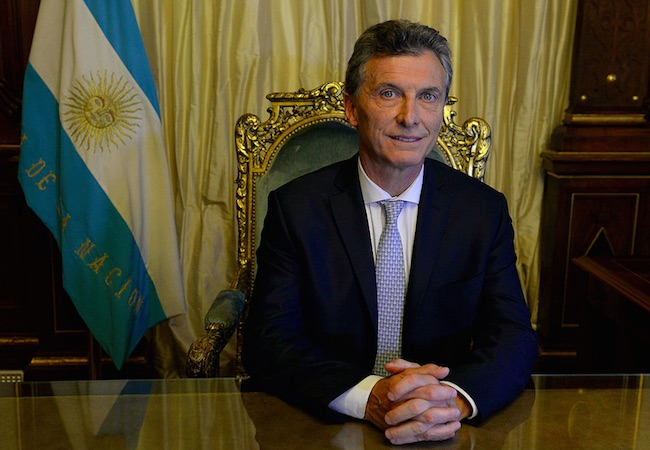 "Photo of ""Obviously we will stand by all our sovereign claims"", anticipated Macri"