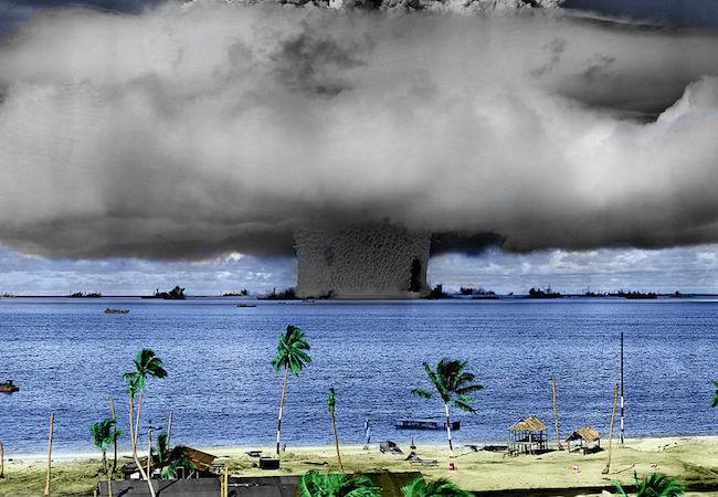 Photo of Nuclear disarmament caseand Marshall Islands