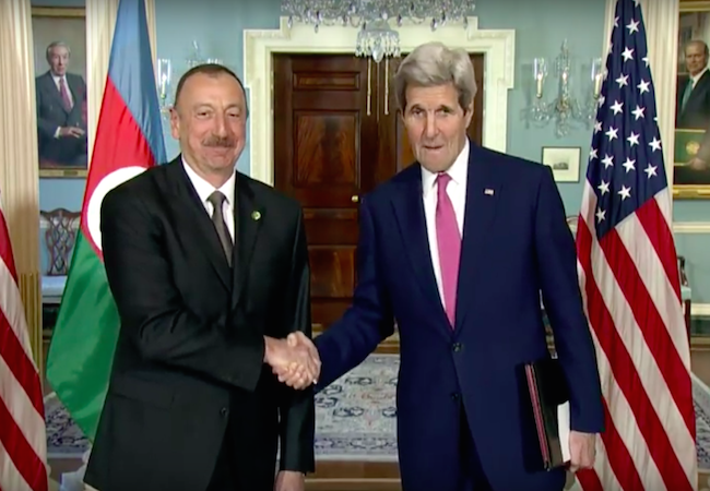 Photo of John Kerry commends Azerbaijan for its strategic role in the region