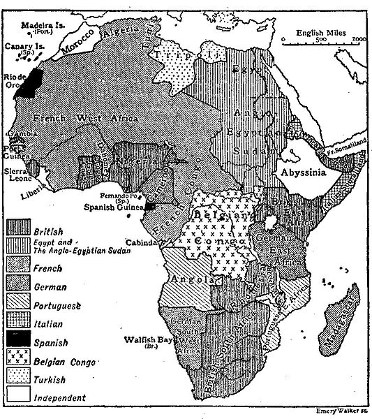 Africa according to Encyclopedia Britannica 1911. (Photo by Koninklijk Paleis: Courtesy of PD-1923; PD-BRITANNICA / WikiCommons)