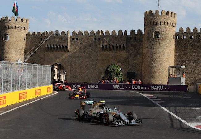 Photo of Azerbaijan hosts European Grand Prix