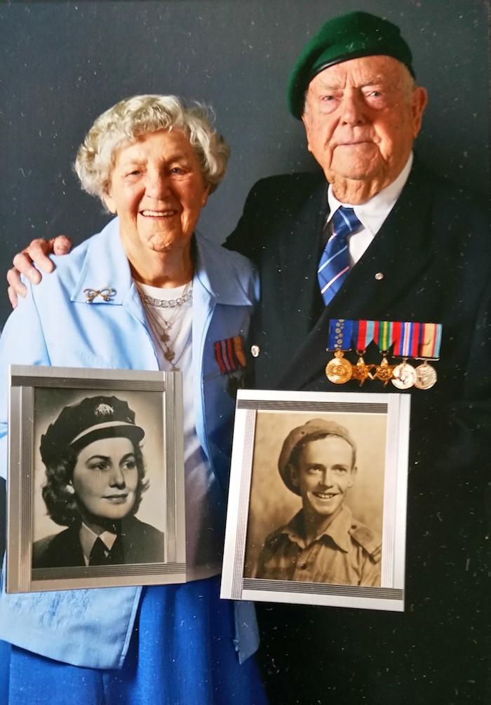 Beryl and James Burrowes