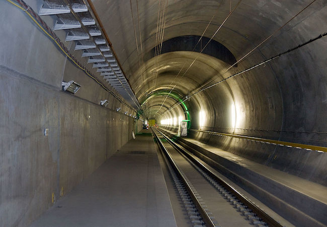 Photo of World's longest rail tunnel of 57 kilometers opens under Swiss Alps