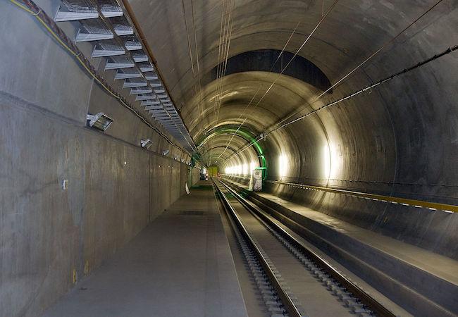 Photo of World's longest rail tunnel of 57 kilometers opens under Swiss Alps