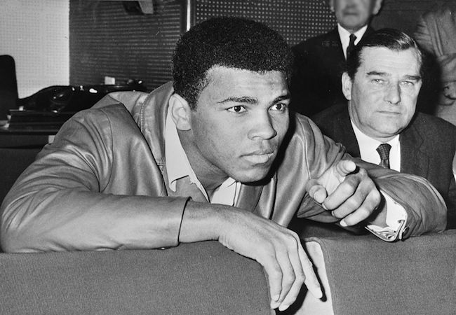 Photo of Muhammad Ali, one of the greatest athletes of all time!