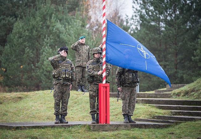 Photo of NATO's provocative maneuver in Baltic