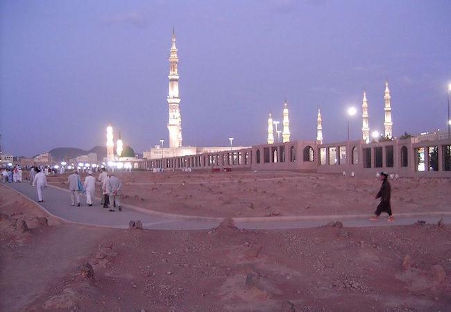 Photo of Explosion near Saudi's Medina holy site