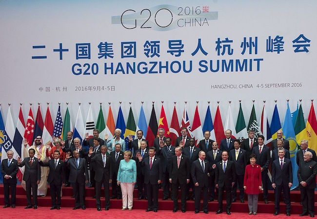 Photo of G20 in China should aim at global free trade treaty