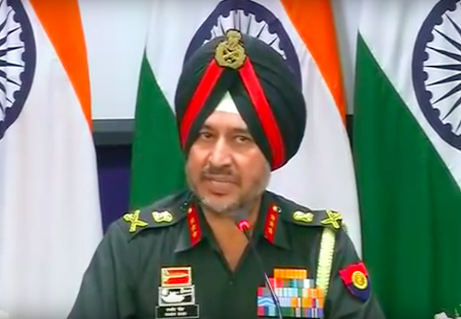 Photo of India's post-surgical strikes anonymity