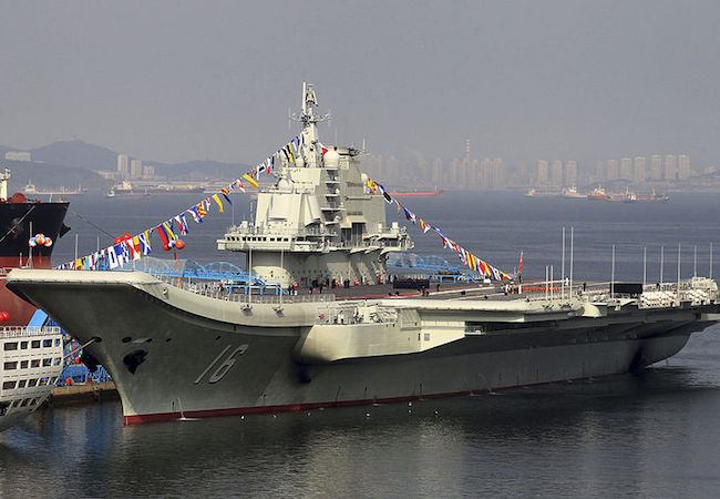 Photo of Tension mounts as strong Chinese fleet of aircraft carrier and navy vessels spotted south of Taiwan