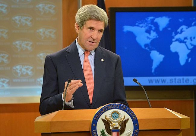 Photo of Remarks of Secretary John Kerry on Middle East Peace