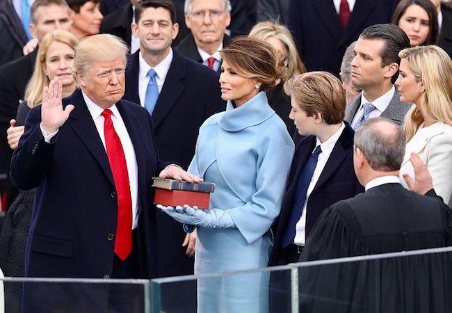 Photo of Trump's turn