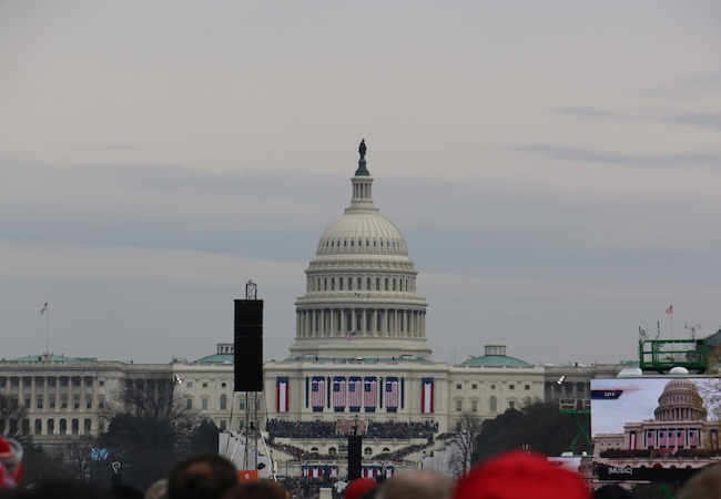 Photo of Inauguration speech of President Donald J. Trump