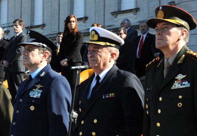 Photo of Cristina Fernandez ex Army chief arrested for alleged torture and kidnapping