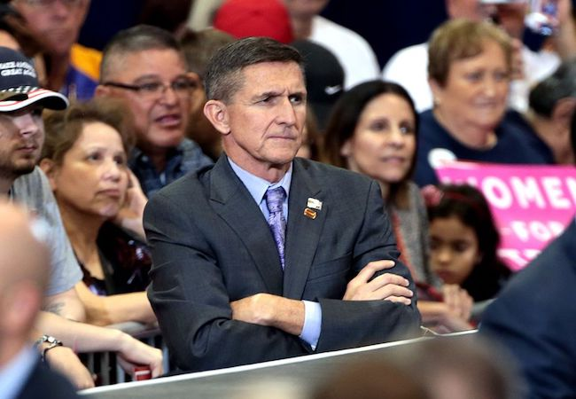 Photo of Deep State shows they control national security with Michael Flynn resignation