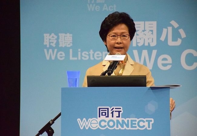 Photo of Hong Kong elects China-backed first female leader Carrie Lam as chief executive