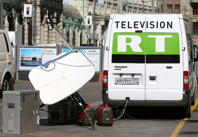 Photo of Reporting in and by America: From Russia Today to Radio Free Europe/Radio Liberty