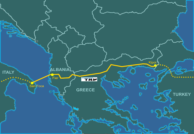 Photo of The Trans Adriatic Pipeline, the Mediterranean and the new energy networks