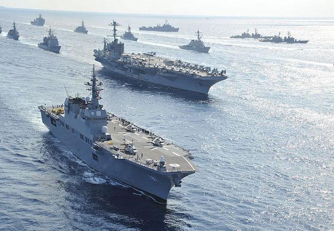 Photo of Japan dispatches warship to protect US vessel