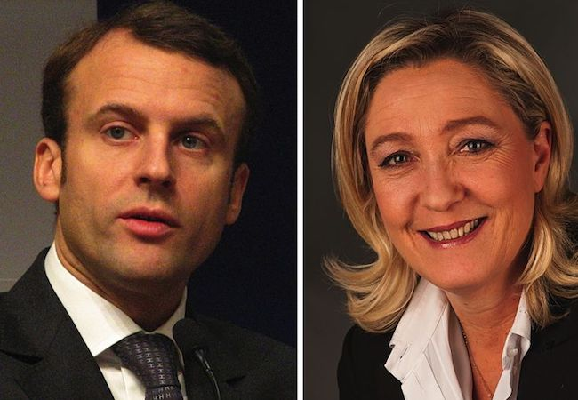 Photo of French presidential candidates' debate: plenty of insults and no substance
