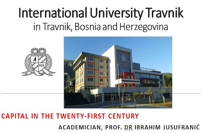 Photo of IUT Chancellor Ibrahim Jusufranić Held an motivational lecture at Kaunas faculty, Lithuania