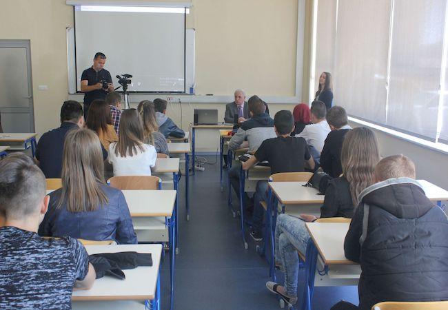 Photo of Kazimieras Simonavičius University welcomes IUT Professor of Communications