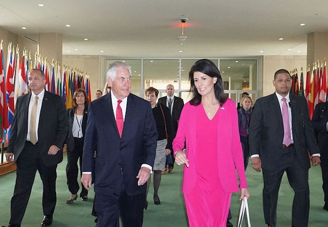 Photo of Nikki Haley's statement on Doha-Hamas ties and its possible implications for US policy toward Qatar