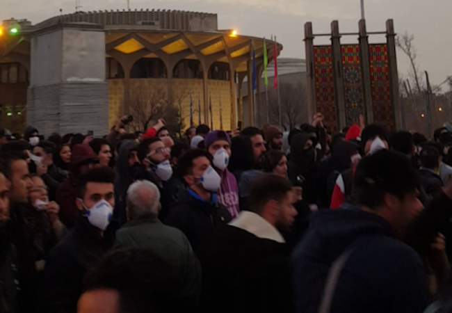 Photo of Iran unrest
