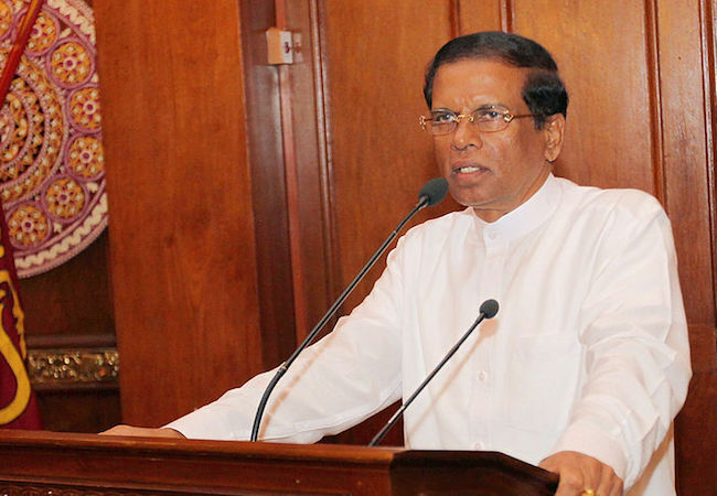 Photo of Sri Lankan president signs gazette declaring week-long state of emergency
