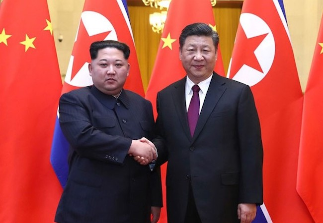 Photo of Kim meets Xi: A tactful staging post before the talks