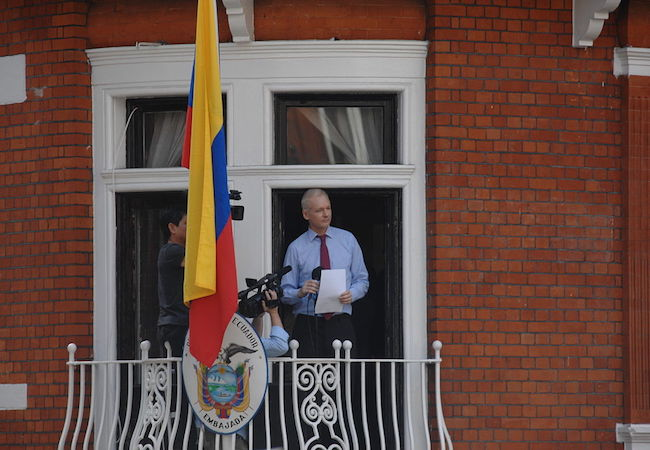 Photo of Assange's new indictment: Espionage and the First Amendment
