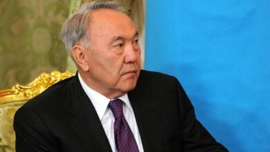 Photo of Kazakhstan's president Nazarbayev abruptly resigns