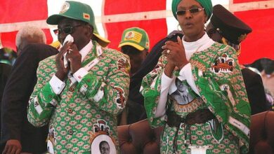 Photo of Robert Mugabe: as divisive in death as he was in life