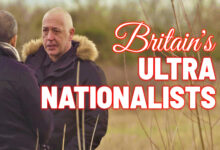 Photo of UK's far right wasteland