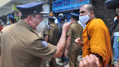 Photo of Protest against police brutality in US, meets police brutality in Sri Lanka